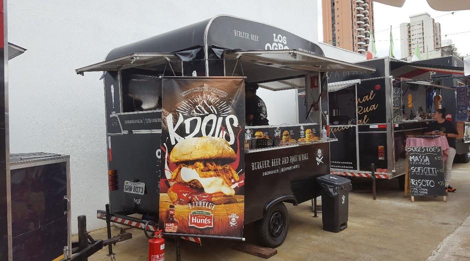 Unidade da Los Ogros, rede de food trucks de hambúrgueres (Foto: Divulgação)