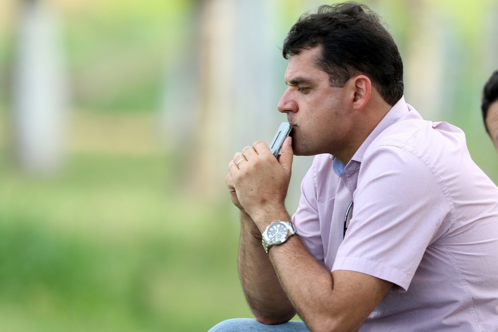 Diógenes Braga reforça cautela alvirrubra em negociações — Foto: Marlon Costa / Pernambuco Press