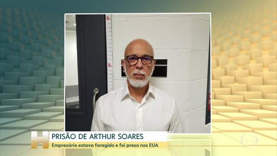 Arthur Soares, o 'Rei Arthur', é preso em Miami, nos Estados Unidos