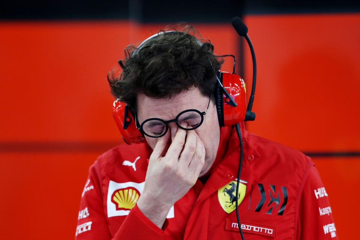 """Binotto não esconde decepção com desempenho da Ferrari: """"O cronômetro nunca mente"""" – globoesporte.com"""