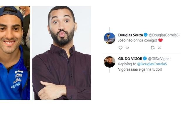 Gil do Vigor, que tem um quadro no 'Mais você', contou que torce para o atleta vigorar (brilhar) nas quadras (Foto: Reprodução)