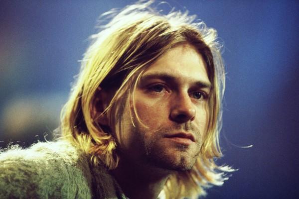 Kurt Cobain em 1993 (Foto: Getty Images)