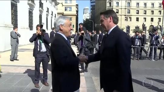 Brasil e Chile se comprometem a ampliar integração entre os países