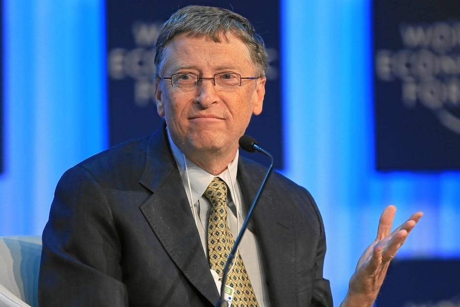 Bill Gates é a segunda pessoa mais rica do mundo (Foto: Wikimedia Commons)