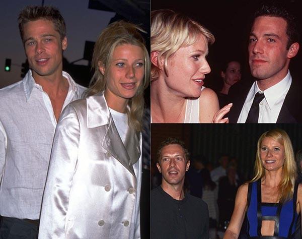 Gwyneth Paltrow, Brad Pitt, Ben Affleck, Chris Martin (Foto: Getty Images)