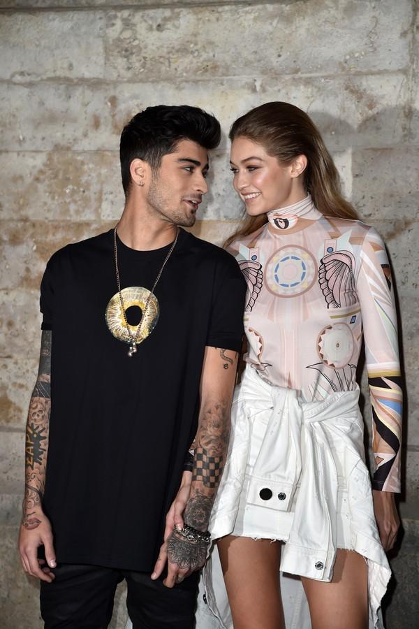 Zayn Malik e Gigi Hadid (Foto: Getty Images)