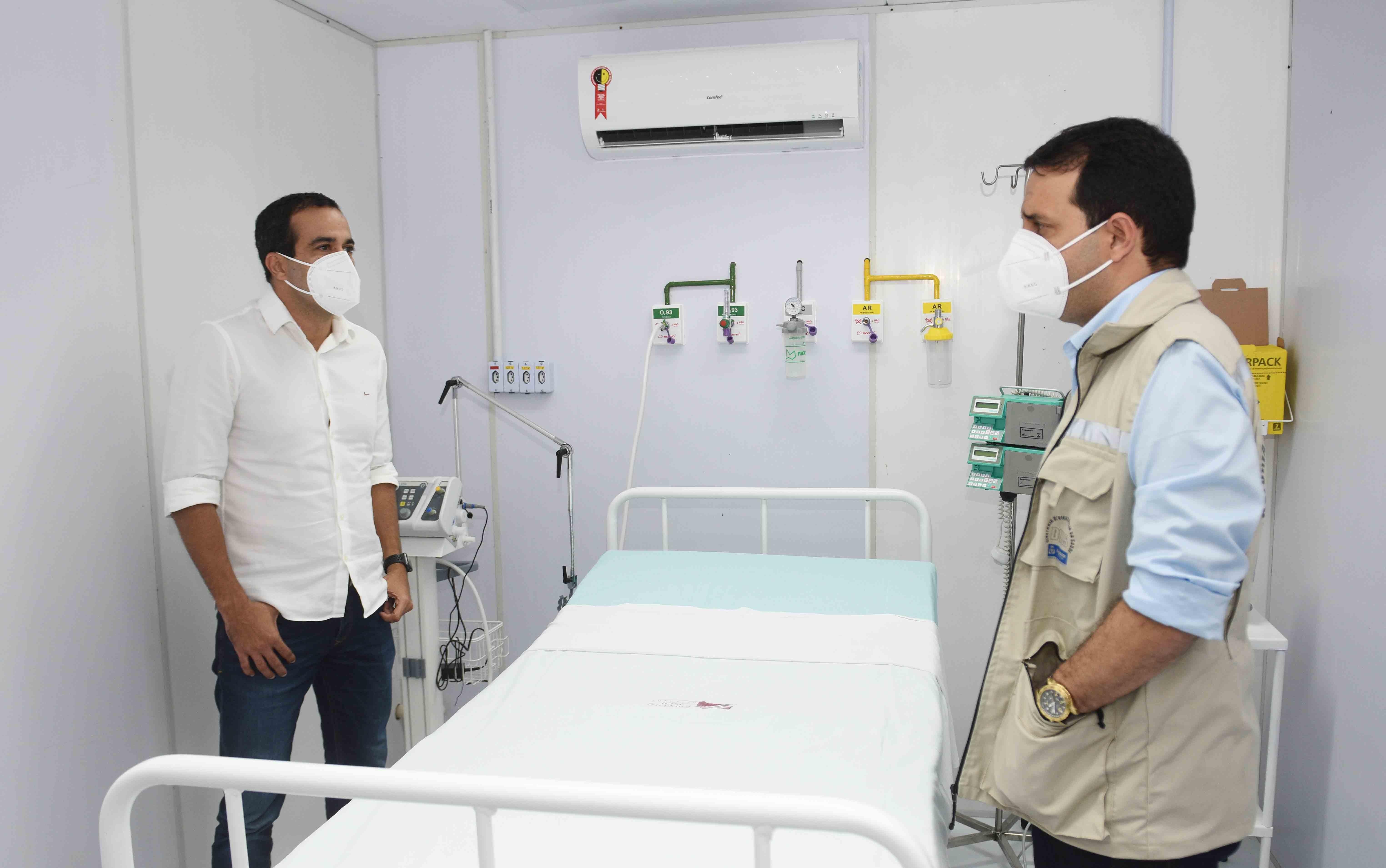 Unidade de suporte ventilatório para pacientes com Covid-19 é inaugurada em Salvador