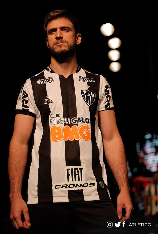 Atletico Mg Apresenta Nova Camisa Para Temporada E Projeta Lucros Com Vendas De Uniforme Atletico Mg Ge