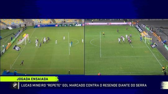 """Troca analisa gol ensaiado de Lucas Mineiro contra o Serra-ES: """"Ele tem atitude"""""""