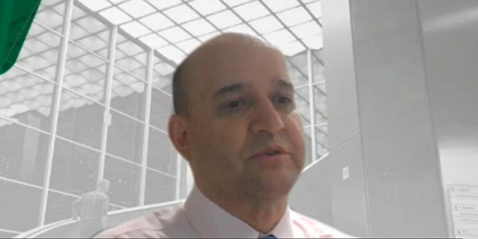 Roberto Ardenghy, diretor de Relações Institucionais da Petrobras  — Foto: Reprodução