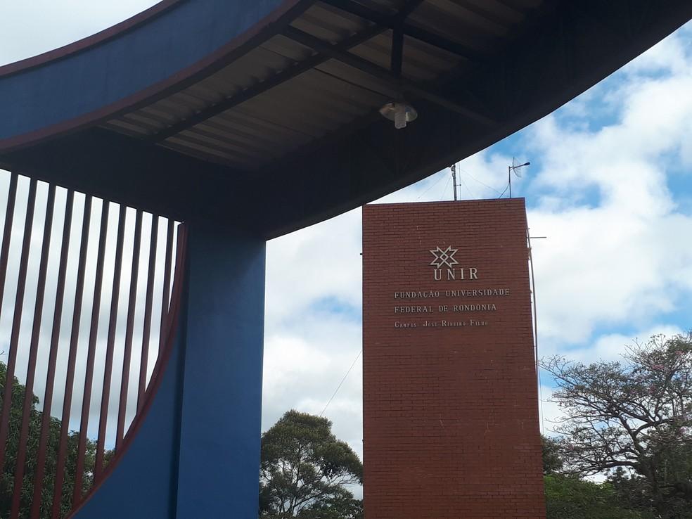 Vagas são para vários campus da Unir — Foto: Ana Kézia Gomes/ G1