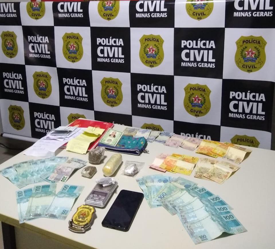 Foragida da justiça por tráfico é presa com drogas em Montes Claros