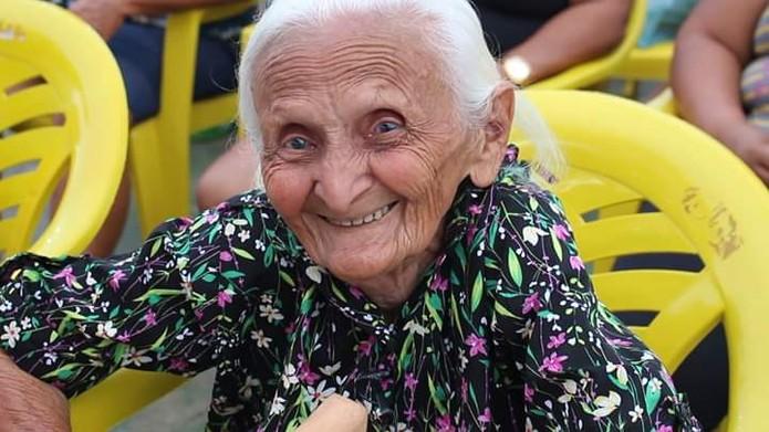 Antônia Conceição da Silva, de 106 anos, foi morta a pauladas dentro da sua residência em Feira Nova do Maranhão — Foto: Divulgação / Redes Sociais