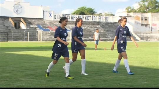 Treze encerra preparação para o Paraibano de Futebol Feminino com 100% de aproveitamento