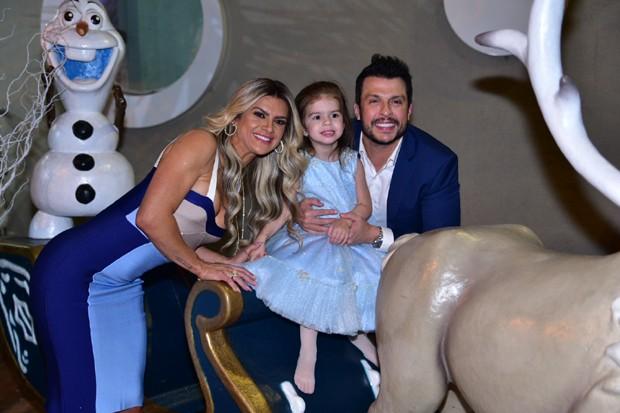 Aniversário de 4 anos de Valentina, filha de Mirella Santos e Ceará (Foto: Manuela Scarpa/Brazil News)