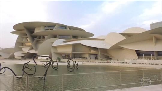 Arquitetura única do Museu Nacional do Catar foi feita para surpreender os visitantes