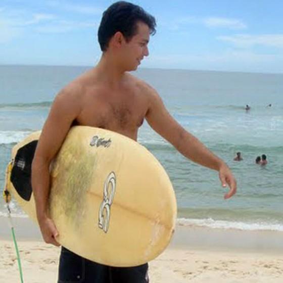 Guido Schäffer morreu afogado quando surfava no Recreio, em 2009 (Foto: ARQUIDIOCESE/DIVULGAÇÃO)