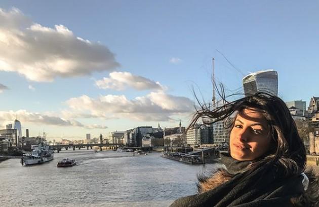 Leticia deixou a comunidade carioca no fim de 2017 para trabalhar como modelo em Londres, onde morou por mais de dois anos (Foto: Reprodução)