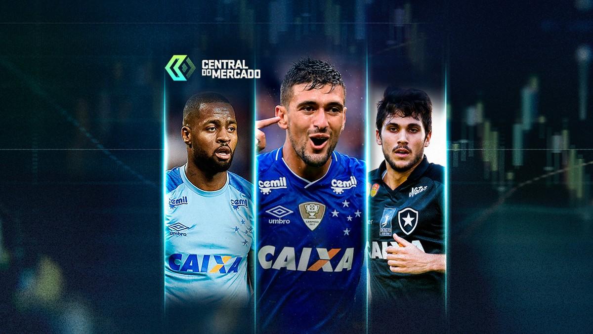 b9bf8bbfec Negativas do Cruzeiro ao Flamengo por investidas em Dedé e Arrascaeta  agitam a Central