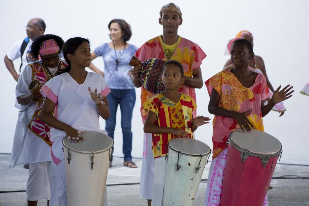 Nação Xambá ajuda a preservar o imaginário afro-brasileiro (Foto: Ricardo Moura/Divulgação)