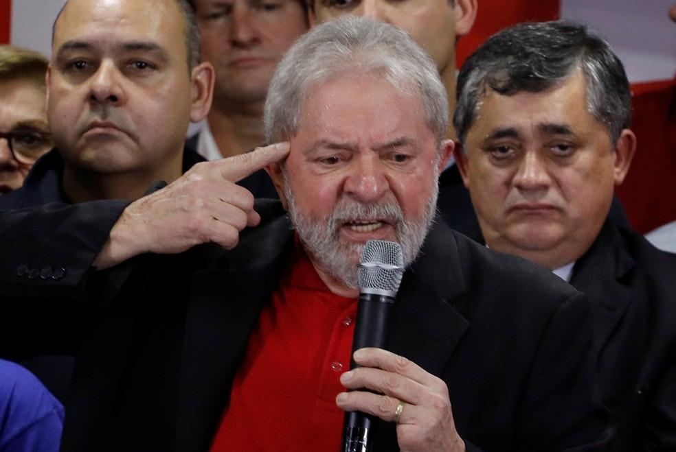 Lula é réu em processo sobre o sítio em Atibaia (Foto: Nacho Doce/Reuters)