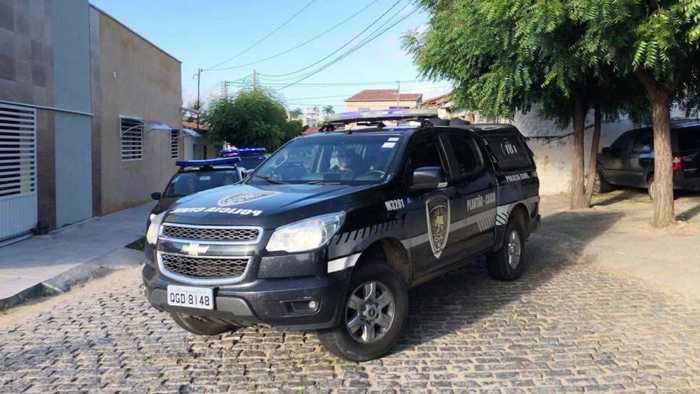 Operação foi deflagrada na manhã desta quinta-feira (23) — Foto: Cleto Filho/Sidy's TV