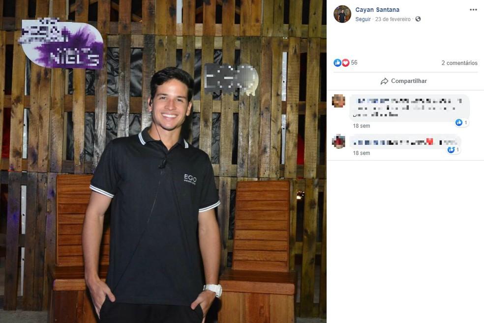 Jovem foi agredido após assistir jogo do Brasil na Ondina, em Salvador — Foto: Reprodução/Redes Bahia