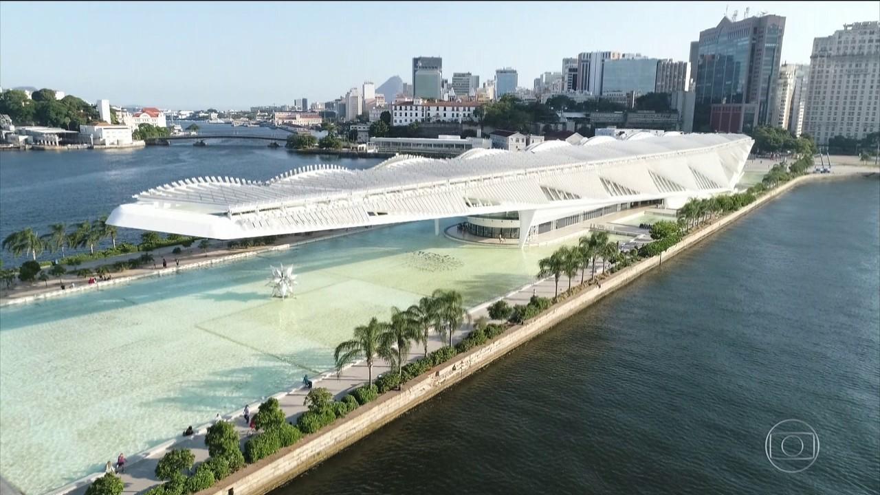 Museu do Amanhã, no Rio, completa três anos