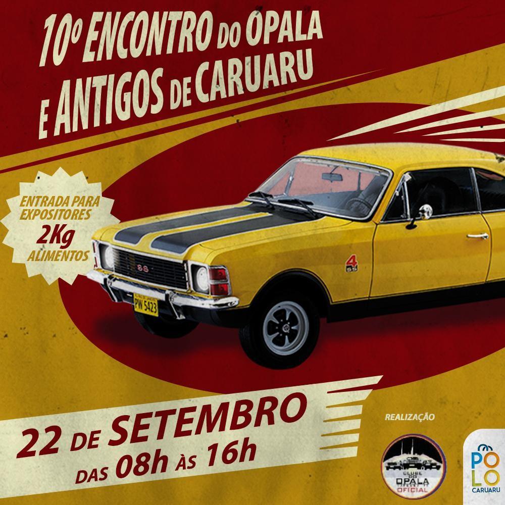 Centro de compras realiza 10º 'Encontro de Opalas Antigos' em Caruaru  - Notícias - Plantão Diário