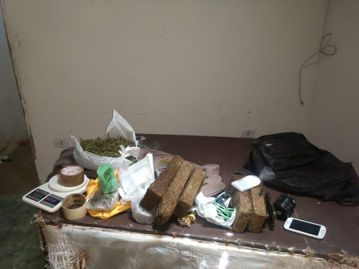 Grupo é preso suspeito de tráfico de drogas, em Campina Grande - Notícias - Plantão Diário