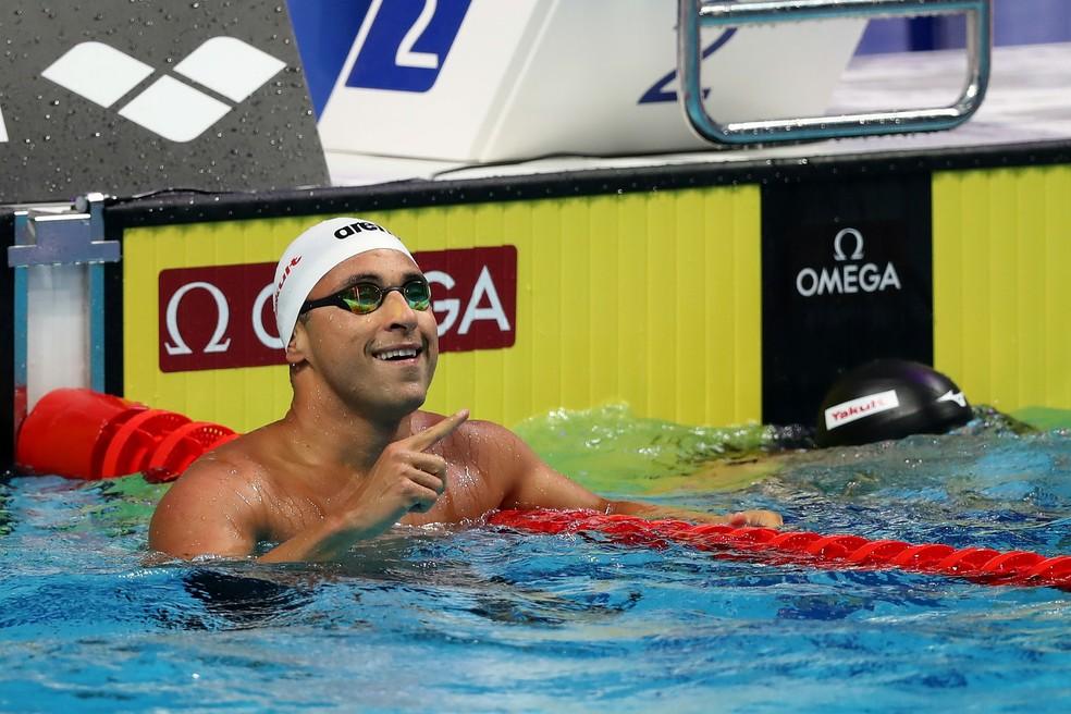 Felipe Lima passa vai para a final do Mundial de Budapeste nos 50m peito (Foto: Satiro Sodré/SSPress/CBDA)