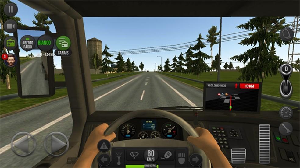 Confira como jogar Truck Simulator 2018 e dirigir seu caminhão por toda a Europa — Foto: Reprodução/Rafael Monteiro
