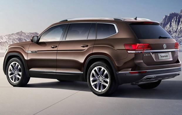 Volkswagen Teramont deve ser importado dos Estados Unidos (Foto: Divulgação)