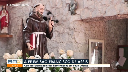 Festa tradicional em Paulo Afonso homenageia São Francisco de Assis