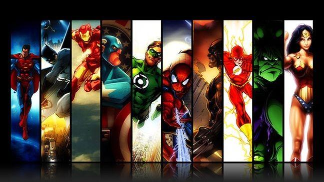 Super heróis  (Foto: Arquivo Google)