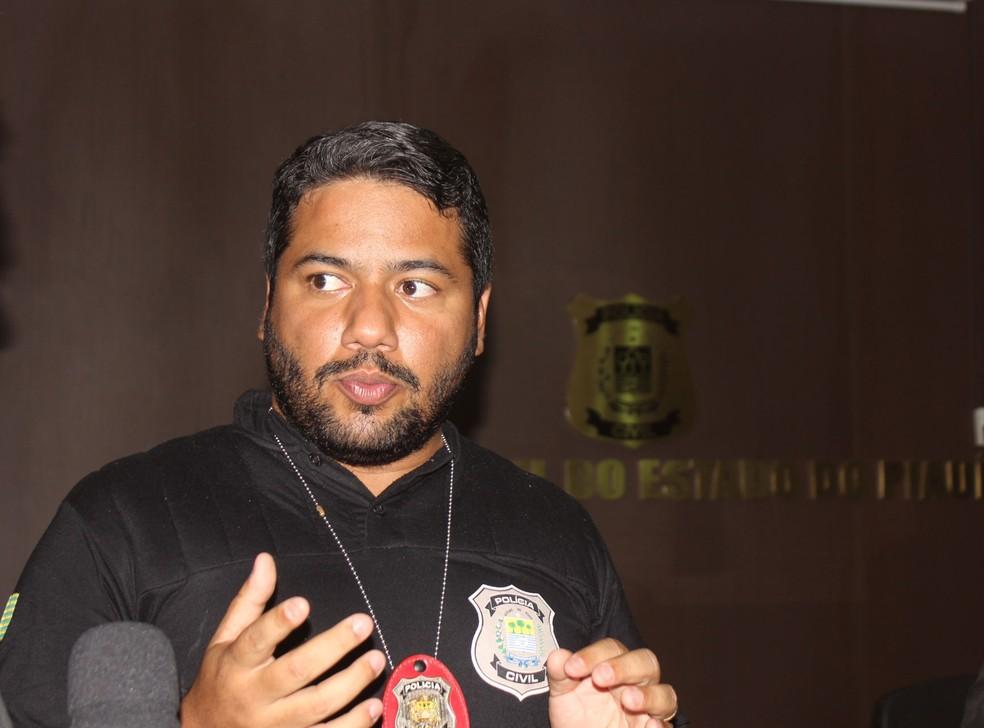 Delegado Daniel Pires. titular da Delegacia de Repressão a Crimes de Alta de Tecnologia (Foto: Gilcilene Araújo/G1)