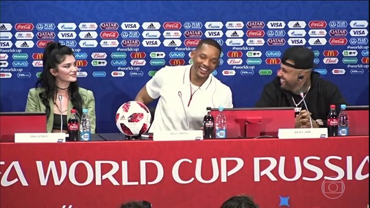"Will Smith ""analisa"" performance de Neymar: ""Há dias bons e dias ruins"""