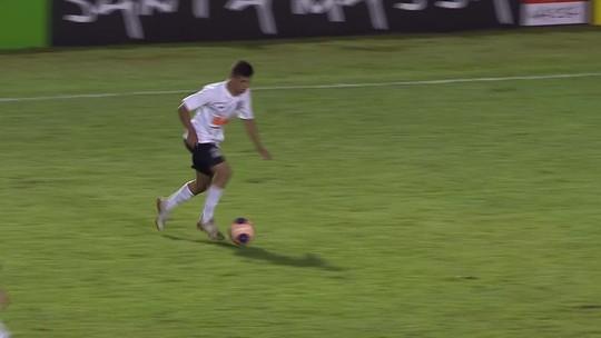 Prêmio Dener: gol de Richard, do Corinthians, é eleito o mais bonito da terceira fase da Copa São Paulo