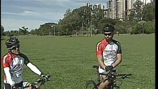 Centenas de ciclistas participam neste domingo de uma maratona de bikes em Londrina