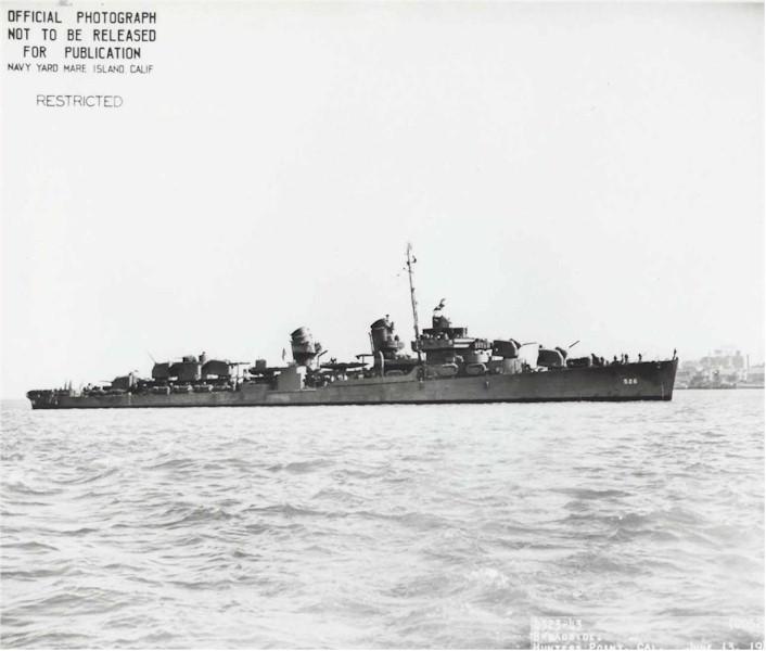 O USS Abner Read em ação (Foto: Wikimedia Commons )