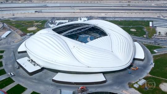 Catar lança seu segundo estádio a três anos da Copa, e xeique muda nome oficial durante inauguração