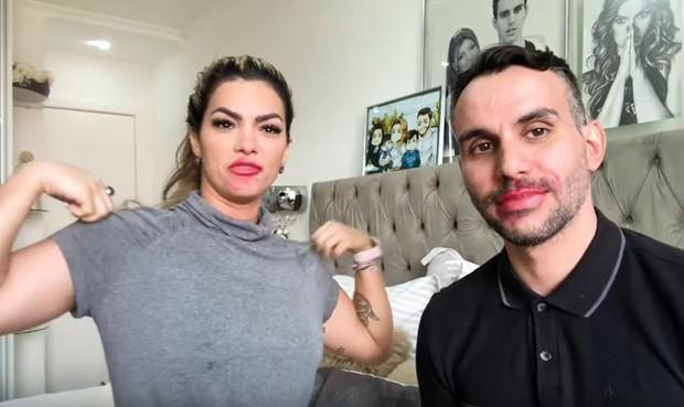 Kelly Key e Mico Freitas (Foto: Reprodução/Youtube)