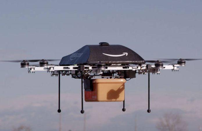 Amazon pretende criar frota de drones para a realização de entregas (Foto: Divulgação/Amazon)