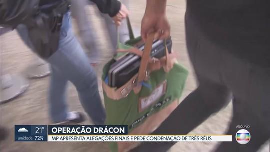 Ministério Público apresenta alegações finais em processo da Operação Drácon