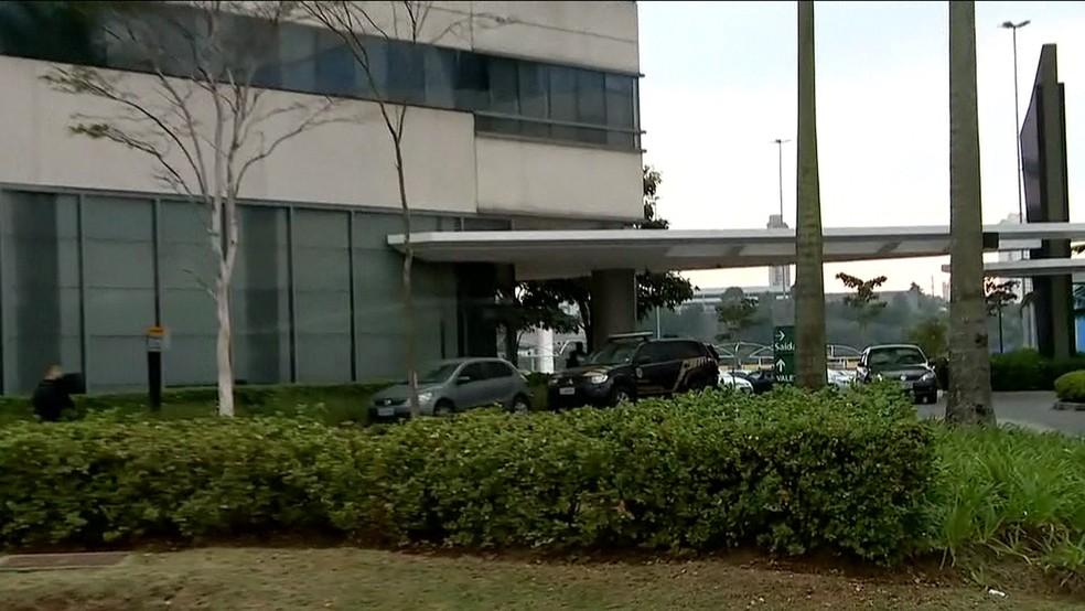 PF cumpre mandados de prisão em SP em nova fase da Lava Jato (Foto: Reprodução/TV Globo)
