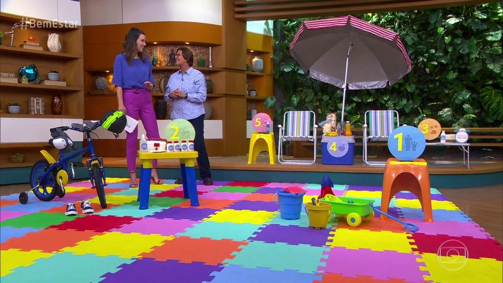 Dr. Ana Escobar dá dicas e orientações para curtir as férias com as crianças com cuidado e segurança. — Foto: reprodução / TV Globo