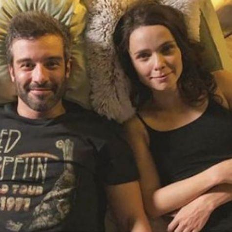 Gustavo Vaz e Débora Falabella (Foto: Reprodução)