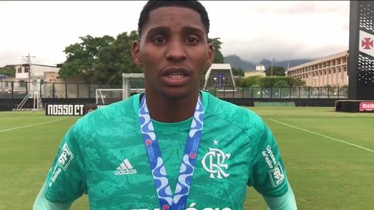 Sub-20: árbitro relata na súmula que não ouviu injúria racial a goleiro do Flamengo em São Januário
