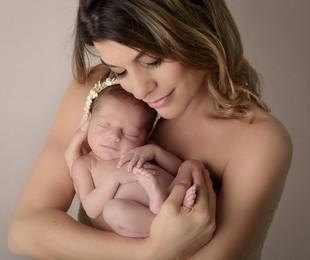 Joana Balaguer e a filha Gaia | Andreia Garcia