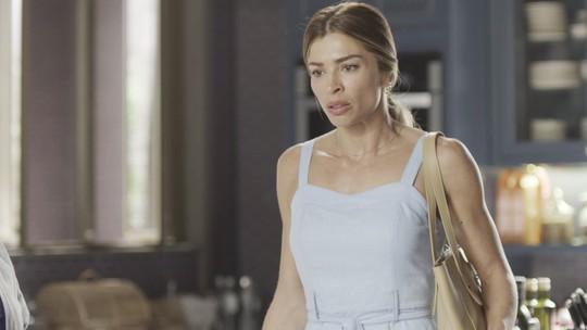 Paloma enfrenta Nana e faz ameaça: 'Não se mete mais na minha vida! Ou eu faço a louca!'
